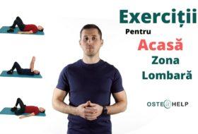 Exerciții pentru acasă – Zona Lombară – Durere resimțită pe zona fesieră