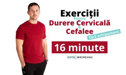 Exerciții pentru durerea cervicală și cefalee