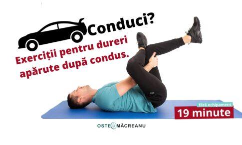 Execută aceste exerciții dacă stai multe ore la volan