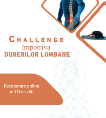 Challange pentru 10 zile împotriva durerilor lombare