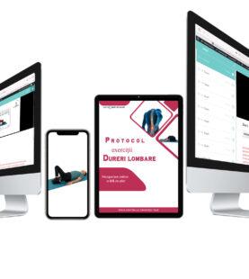 Protocol De Exerciții Pentru Dureri Lombare – Recuperare Online 84 de zile